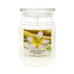 Mega Candles - 18 oz. Country Dreams Scented Jar Candle - Jasmine Bergamot