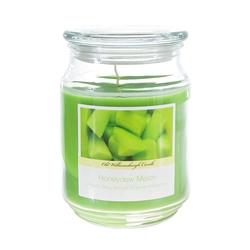 Mega Candles - 18 oz. Country Dreams Scented Jar Candle - Honeydew Melon